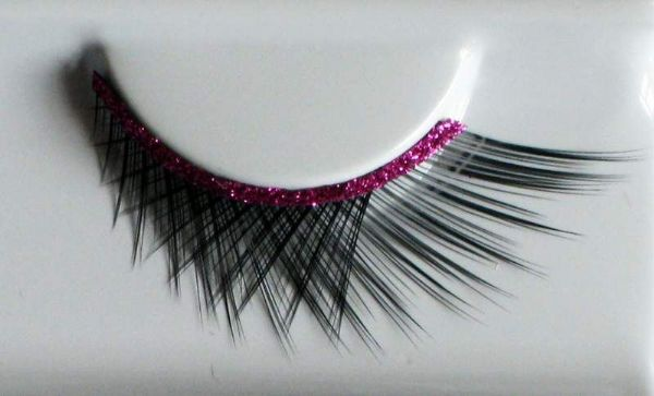 Eyelashes set Crossed Cosmetic Makeup Accessory Halloween